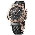 ブレゲ マリーンロイヤル PG×ラバー 裏スケ 黒文字盤 自動巻き時計の買取強化例です。