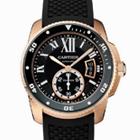 カルティエ W7100052 カリブルドゥカルティエ ダイバー PG×ラバー クォーツ時計の買取強化例です。