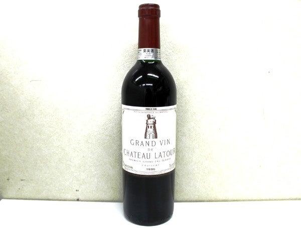ワイン、シャトーラトゥールの ...