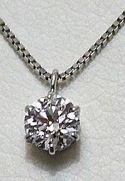 ダイヤモンドの宝石 ダイヤモンド ネックレス 1ctの買取実績です。