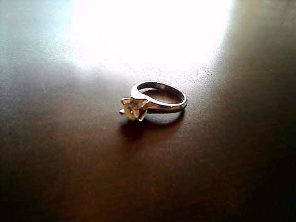 ダイヤモンドのPt850 ダイヤリングの買取実績です。