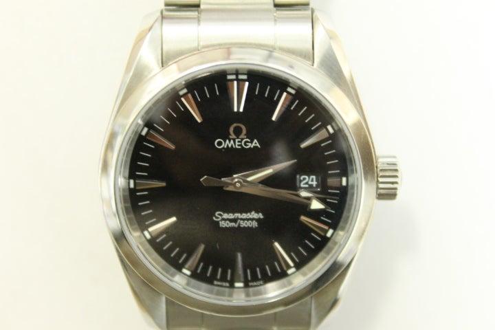 オメガのシーマスターアクアテラ 2518.50 クォーツ ※電池切れの買取実績です。