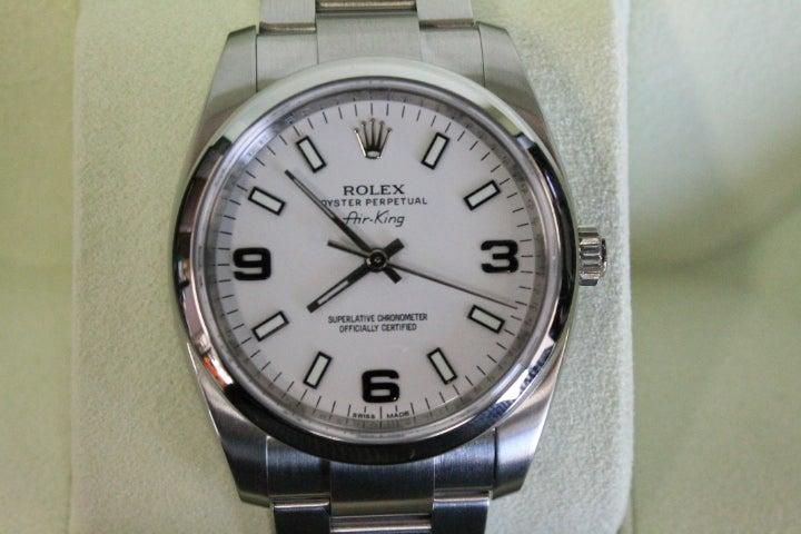 浜松でロレックスのエアキング売るならブランド時計買取のエコスタイル浜松宮竹店