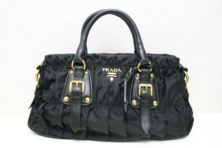 2962の黒 ナイロン 2WAYバッグの買取実績です。