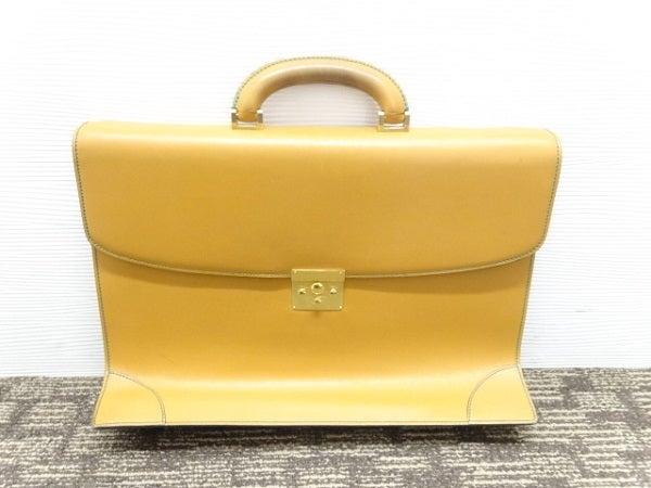 エコスタイル銀座本店で、難ありのヴァレクストラのブリーフケースを買取致しました。