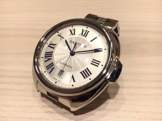 カルティエ(Cartier)の時計を高価買取しました。エコスタイル渋谷店です。