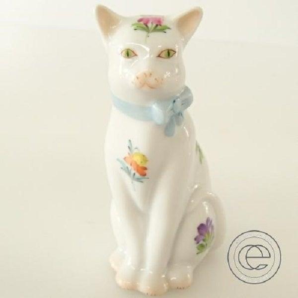 ヘレンドの猫の置物を買取りました。ブランド陶磁器の買取ならエコスタイル