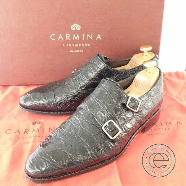 カルミナ(carmina)DEIA クロコダイル ダブルモンクストラップ買取ならエコスタイルへ