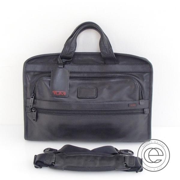 トゥミの96101DH ALPHA ポートフォリオ 2Wayビジネスバッグの買取実績です。