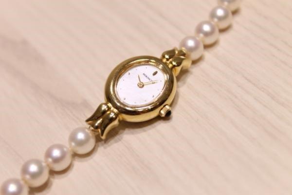 ミキモトの2針パール時計を買取いたしました、エコスタイル。