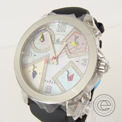 ジェイコブの5タイムゾーン時計買取。時計の買取ならエコスタイルへ