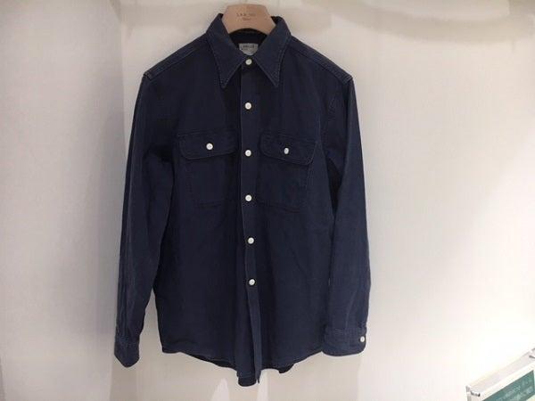 マディソンブルー(MADISONBLUE)のワークシャツを買取ました。エコスタイル渋谷店です。