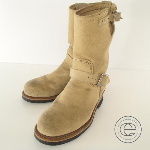 レッドウイングの8268エンジニアブーツ買取。靴を売るならエコスタイルへ。