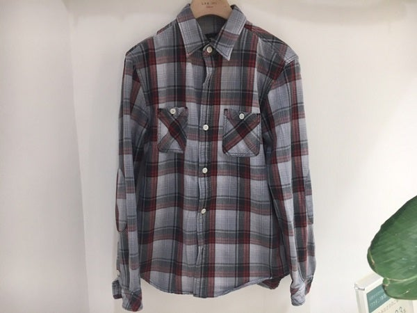 ロンハーマンのグレー チェックシャツの買取実績です。