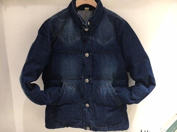 ロンハーマンの2014年 インディゴ染 ダウンジャケットの買取実績です。