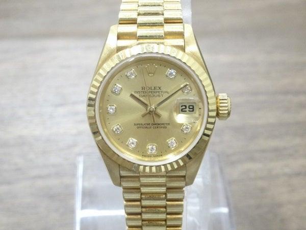 エコスタイル銀座本店でロレックスのデイトジャスト 79178を買取致しました。
