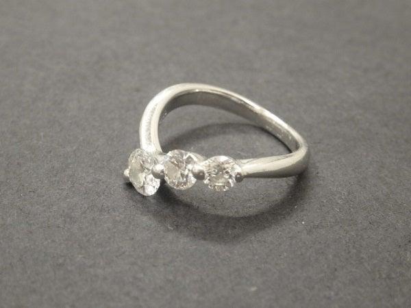 タサキの3P ダイヤモンド リングの買取実績です。