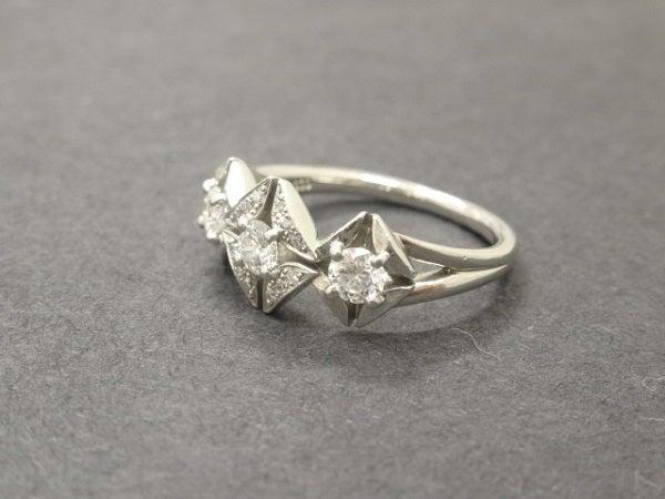 エコスタイル銀座本店で、フォーエバーマークのダイヤリングを買取致しました。