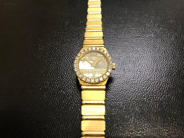エコスタイル浜松鴨江店にて、ピアジェ(PIAGET)のミニダンサー クオーツ時計を買取致しました!