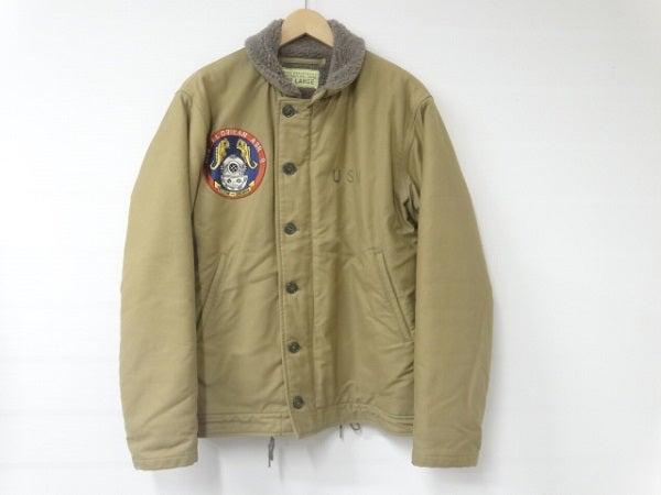 バズリクソンズのKhaki FLORIKAN BR12635 N-1デッキジャケットの買取実績です。