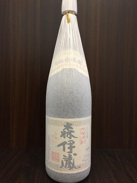 森伊蔵の芋焼酎 1.8Lの買取実績です。