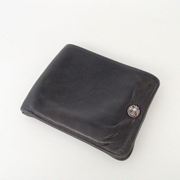 クロムハーツのクロスボール レザー二つ折り財布の買取実績です。