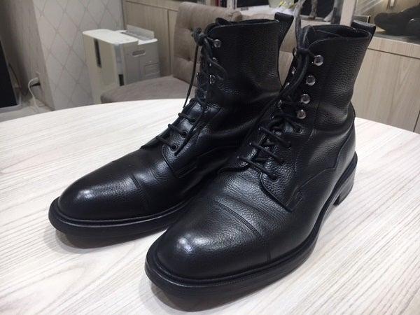 エドワードグリーンの黒 GALWAY ブーツの買取実績です。