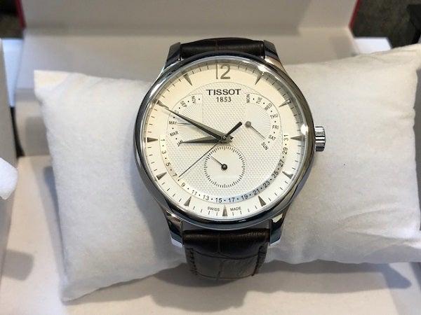 ティソ(TISSOT)の状態の良い腕時計をお買取いたしました。