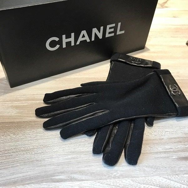 エコスタイル新宿店でシャネル(CHANEL)のレザーグローブをお買取させていただきました。