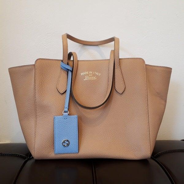 グッチのスウィングトートバッグ買取。港区のブランド品買取リユースショップ「エコスタイル広尾店」