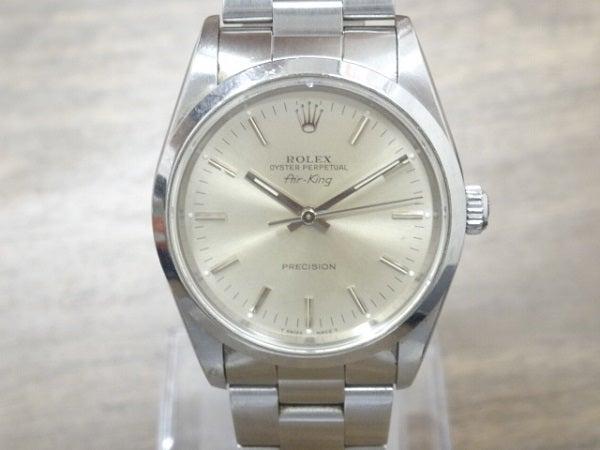 ロレックスの14000 X番 エアキング 腕時計の買取実績です。