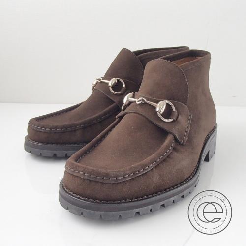 グッチのホースビットチャッカブーツ買取。ブランド靴売るならエコスタイルへ