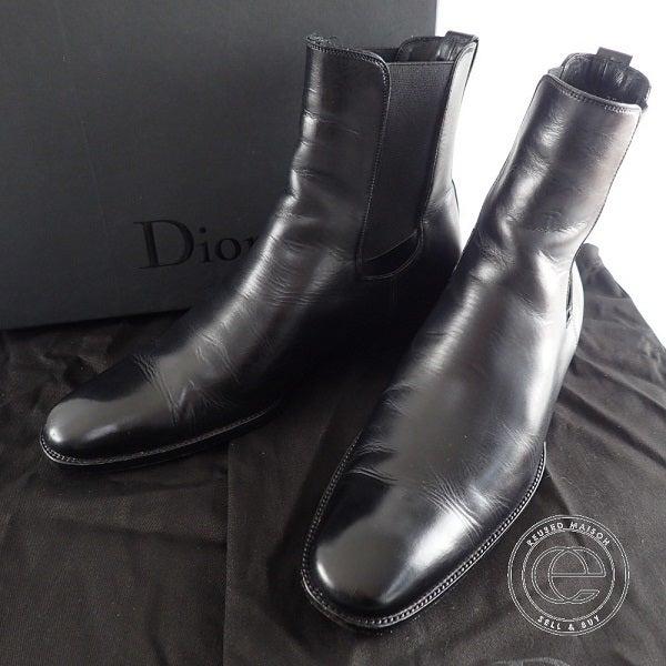 ディオールオムのサイドゴアブーツ買取。ブランド靴買取ならエコスタイルです。