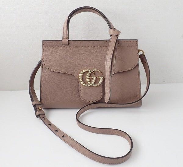 グッチのGGマーモント2WAYバッグを高価買取させて頂きました。エコスタイル新宿三丁目店です。