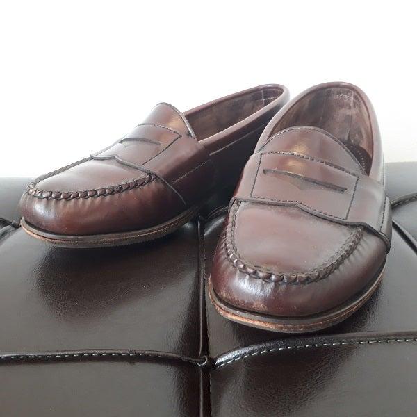 エドワードグリーンの古いコインローファー買取ました。港区の革靴買取店「エコスタイル広尾店」