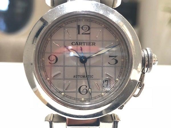 エコスタイル渋谷店では、カルティエ(Cartier)の腕時計を買取ました。