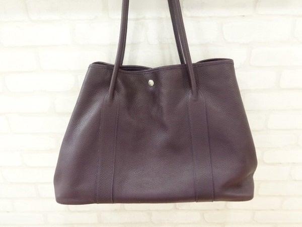 エコスタイル銀座本店にてチェレリーニ(Cellerini)のボルドーレザートートバッグを買取させていただきました。