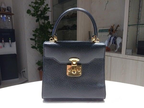 エコスタイル渋谷店で時間の経過したグッチの2WAYハンドバッグを買取りました。