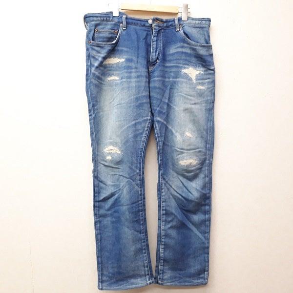 ロンハーマンのUSED加工 スウェットデニムパンツ ※裾擦れありの買取実績です。