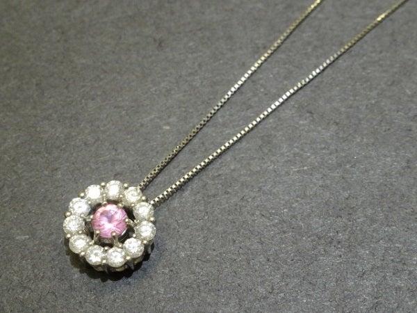 ダイヤモンドのPt900×Pt850 0.5ct ダイヤモンド ネックレスの買取実績です。