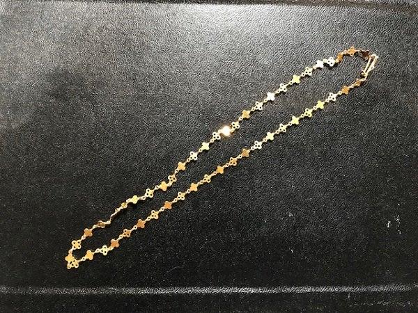 マリーエレーヌドゥタイヤック(Marie-Helene de Taillac)の通常使用感スモールクローバーネックレスを買取いたしました。エコスタイル新宿三丁目店です。