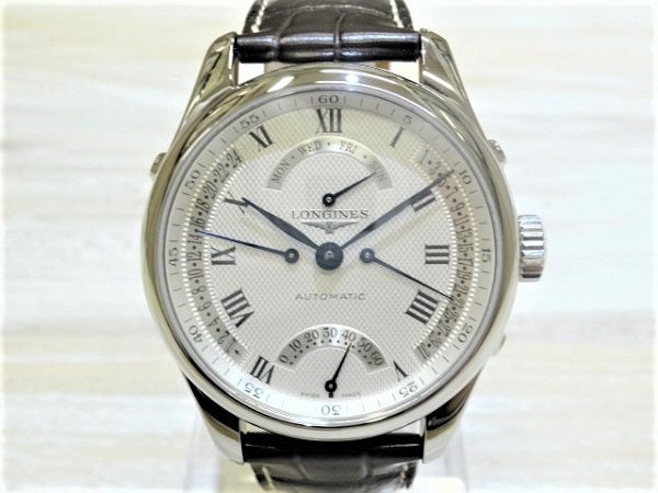 ロンジン(Longines)のマスターコレクションレトログラード腕時計を買取致しました。エコスタイル銀座本店です。