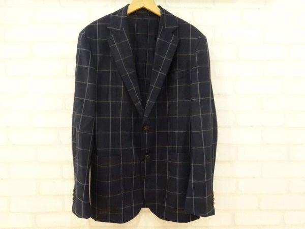 バーニーズニューヨークのロロピアーナ生地 ウィンドウペーン ジャケットの買取実績です。