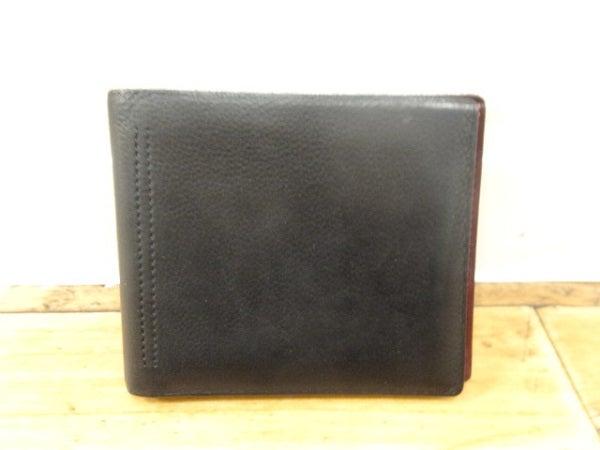 ジョンロブのレザー×スエード 二つ折り財布の買取実績です。