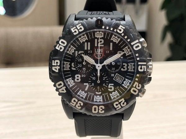 2778の黒 XS.3081 NAVY SEAL COLORMARK CHRONO クオーツ腕時計の買取実績です。