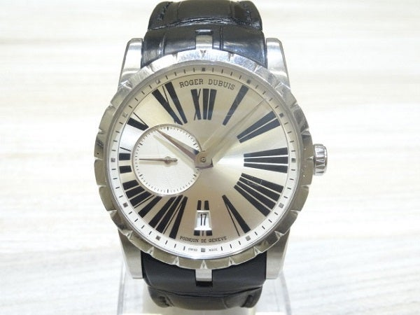 エコスタイル銀座本店でロジェデュブイのエクスカリバー 腕時計を買取致しました。