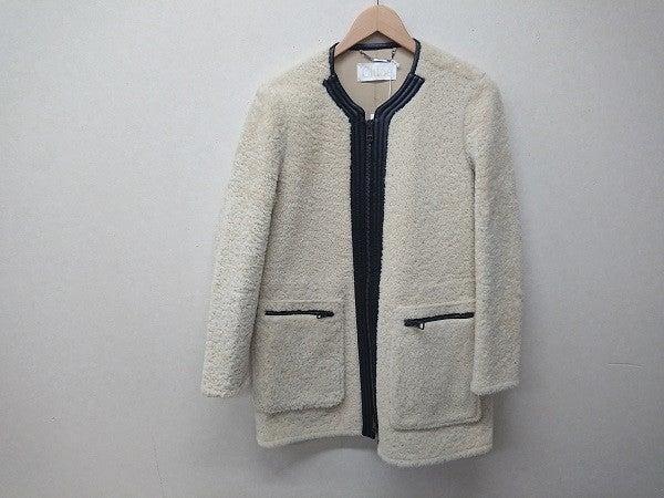 クロエの14年秋冬 ラムスキン ノーカラージャケットの買取実績です。