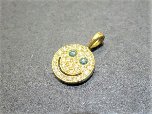 アイファニーの750 1.6g ダイヤモンド スマイルネックレストップSの買取実績です。