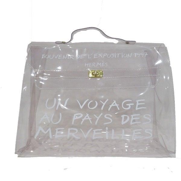 以前エコスタイル銀座本店で、エルメスの限定バッグのビニールケリーを買取りました