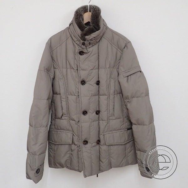 ムーレーのラビットファー襟付き ダウンジャケットの買取実績です。